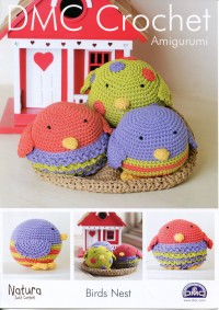 DMC 15097L/2 Crochet Amigurumi Birds Nest (Leaflet)