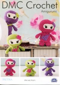 DMC 15324L/2 Crochet Little Lady Ninja's (Leaflet)