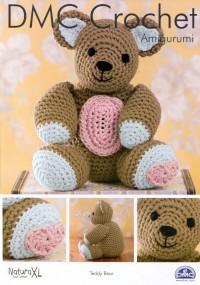 DMC 15332L/2 Crochet Amigurumi Teddy Bear (Leaflet)