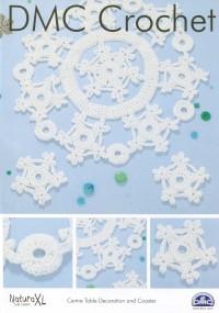 DMC 15333L/2 Crochet Centre Table Decoration and Coaster (Leaflet)