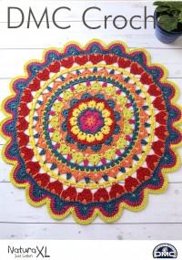 DMC 15408L/2 Crochet Decorative Rug (Leaflet)