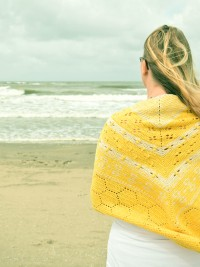 Christina Hadderingh - (NL) History of Bees Shawl in Scheepjes Metropolis (downloadable PDF)