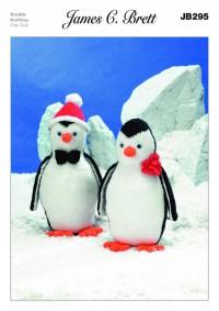 James C Brett 295 Toy Penguins in Top Value DK (leaflet)