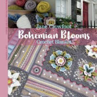 Janie Crow - Bohemian Blooms Crochet Blanket (book)