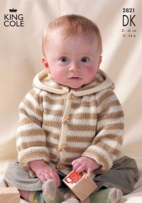 King Cole 2821 Mix 'n' Match Raglan Sweaters and Jackets in DK (leaflet)