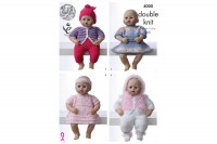 King Cole 4000 Dolls Clothes in DK (downloadable PDF)