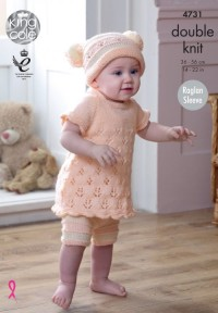 King Cole 4731 Baby Set in Comfort DK (leaflet)