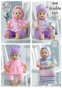 King Cole 5000 Dolls Clothes (leaflet)