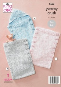 King Cole 5603 Sleeping Bags in Yummy Crush (downloadable PDF)