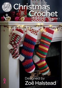 King Cole Christmas Crochet Book 1 (book)