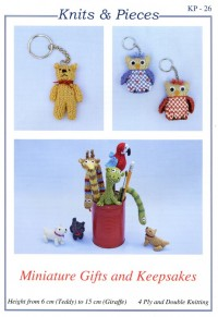 Knits & Pieces - KP26 - Miniature Gifts and Keepsakes (leaflet)