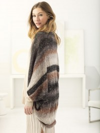 Lion Brand Date Night Shrug in Shawl in Ball  (downloadable PDF)