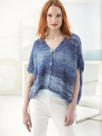 Lion Brand Easy Breezy Cardi in Shawl in a Ball (downloadable PDF)