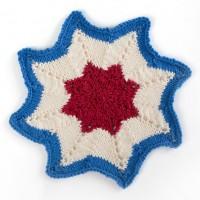 Sugar 'n Cream - Americana Knit Dishcloth in Solids (downloadable PDF)