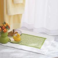 Sugar 'n Cream - Bath Mat in Solids and Twists (downloadable PDF)