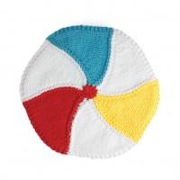 Sugar 'n Cream - Beach Ball Dishcloth in Solids (downloadable PDF)