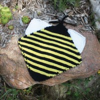 Sugar 'n Cream - Bee Dishcloth in Solids (downloadable PDF)