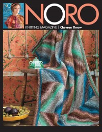 Noro - Chevron Throw in Kureyon (downloadable PDF)