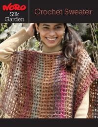 Noro - Crochet Sweater in Silk Garden (downloadable PDF)