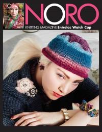 Noro - Entrelac Watch Cap in Kureyon (downloadable PDF)