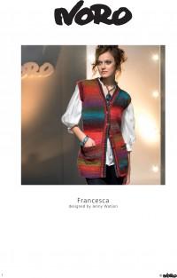 Noro - Francesca Waistcoat designed by Jenny Watson in Kureyon (downloadable PDF)