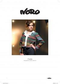Noro - Freda Cardigan designed by Jenny Watson in Silk Garden (downloadable PDF)