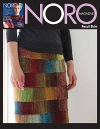 Noro - Pencil Skirt in Kureyon (downloadable PDF)