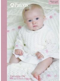 Patons 3398 - Fairytale DK Girls Sweater (leaflet)