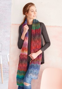 Patons - Scarf in Colour Mix (downloadable PDF)