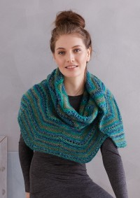 Patons - Shawl in Colour Mix (downloadable PDF)