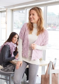 Patons - Sleeveless Cardigan in Dream Light (downloadable PDF)