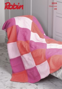 Robin 3024 Sleepy Baby Blanket in Bonny Babe DK (leaflet)