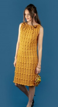 Robin 3059 Vintage Dress in Sparkle DK (leaflet)