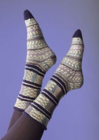Regia - Band Socks by Charles D. Gandy in Regia 4 Ply (downloadable PDF)
