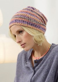 Regia - Beanie with Textured Pattern in Regia 6 Ply (downloadable PDF)