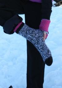 Regia - Bishorn Socks in Regia 6 Ply (downloadable PDF)