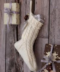 Regia - Christmas Stocking in Regia 4 Ply (downloadable PDF)