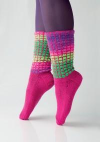 Regia - Color Grid Socks by Charles D. Gandy in Regia 4 Ply (downloadable PDF)