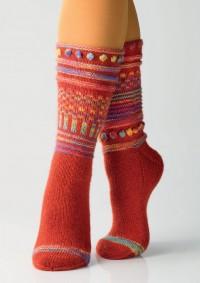 Regia - Hodge Podge Socks by Charles D. Gandy in Regia 4 Ply (downloadable PDF)