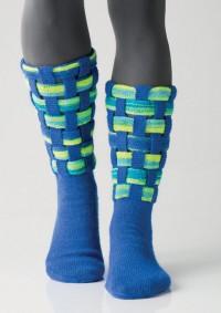 Regia - Lattice Socks by Charles D. Gandy in Regia 4 Ply (downloadable PDF)