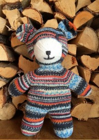 Regia - Knitted Teddy in Regia 4 Ply (downloadable PDF)