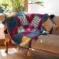 West Yorkshire Spinners - Emeline Mindful Blanket in ReTreat (leaflet)