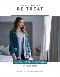 West Yorkshire Spinners - Janoah Bobble Cardigan in ReTreat (leaflet)