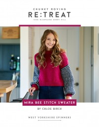 West Yorkshire Spinners - Mira Bee Stitch Sweater (leaflet)