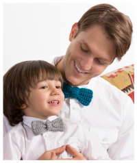 Red Heart - Bow Tie for the Guys in Red Heart Soft (downloadable PDF)