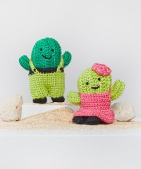 Red Heart - Agave & Aloe Crochet Cactus in Amigurumi (downloadable PDF)