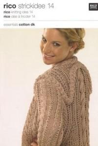 Rico Knitting Idea 14 (Booklet) Essentials Cotton DK