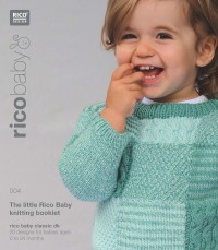 Rico Baby Knitting 004 (Booklet) Baby Classic DK
