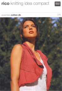 Rico Knitting Idea Compact 078 (Leaflet) Essentials Cotton DK