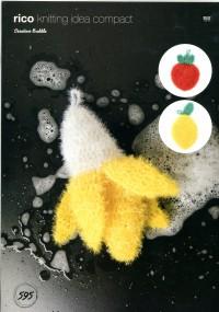 Rico Knitting Idea Compact 595 (Leaflet) Banana, Strawberry and Lemon in Creative Bubble  (DK)